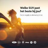 Test en vergelijk SUV's bij Van Mossel Breda