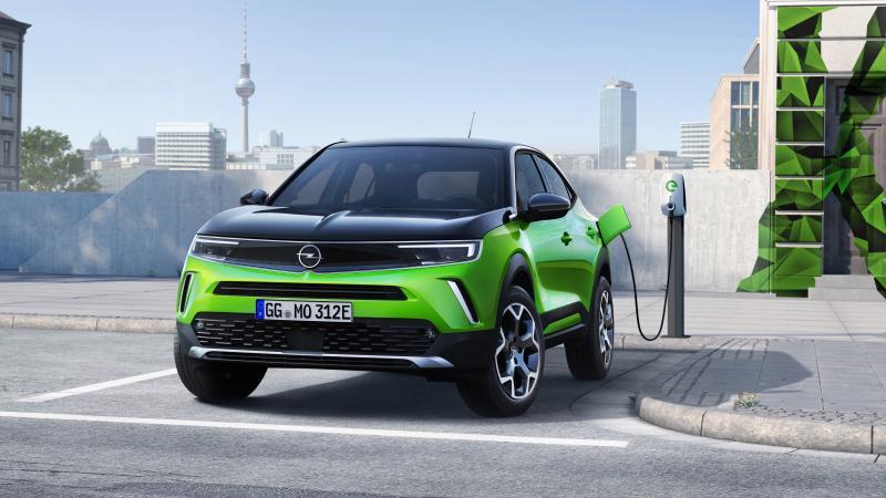 Opel steeds elektrischer in 2021!