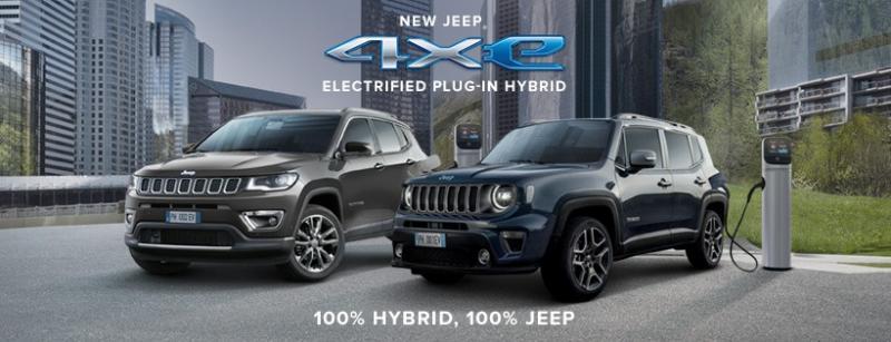 Jeep 4xe plug-inhybride komen eraan