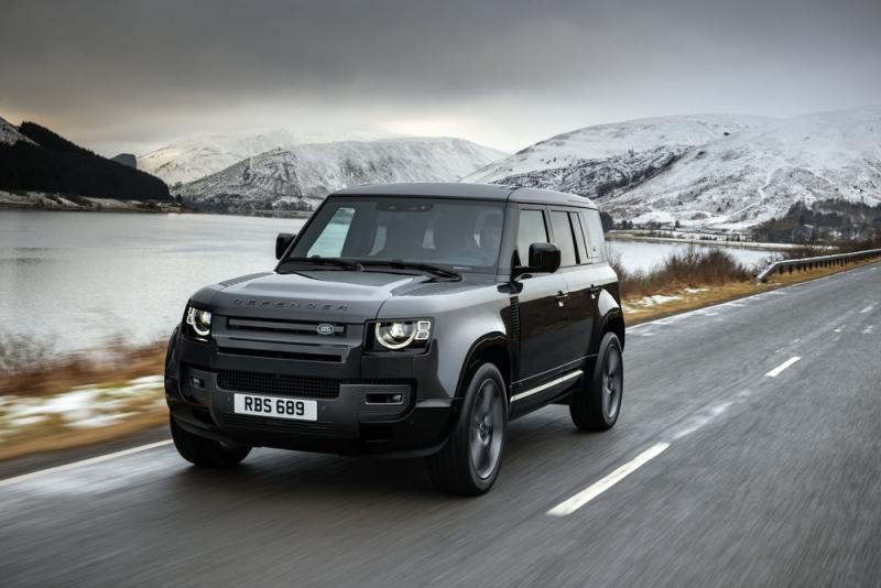 Land Rover Defender krijgt een sterke V8 motor
