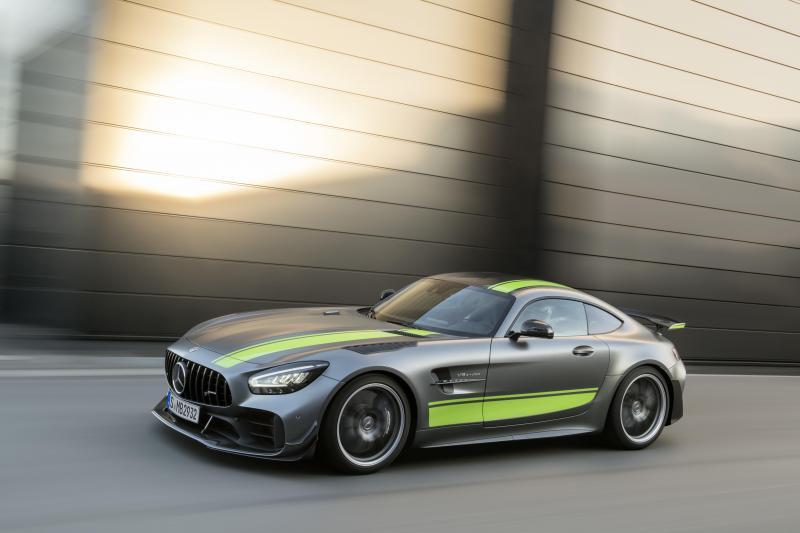 Mercedes-AMG GT en AMG GT R PRO: verder verfijnd en nog dynamischer