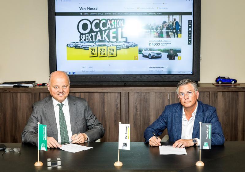 Gouden randje sponsorcontract Willem II en Van Mossel