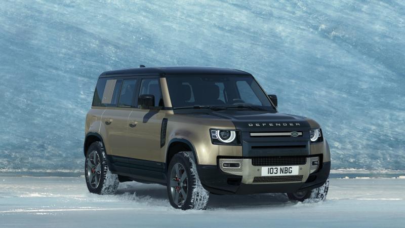 De nieuwe Land Rover Defender