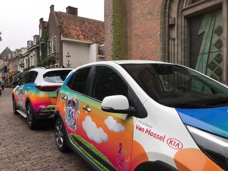 Nieuwe Kia's voor festival 033Live in Amersfoort!