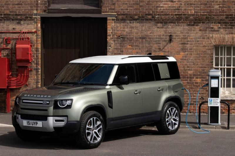 Land Rover introduceert de Defender P400e plug-in hybrid