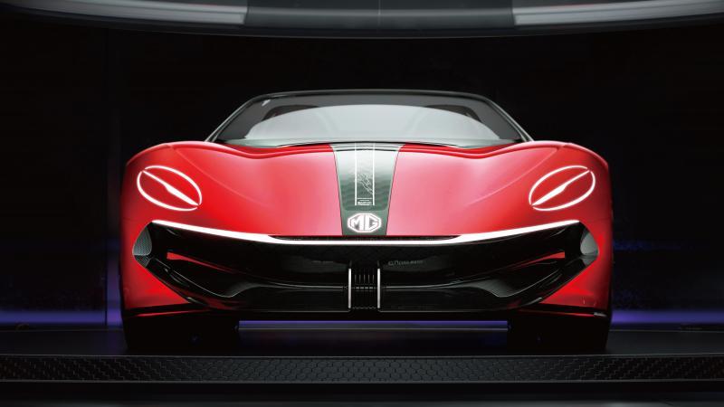 MG Cyberster debuteert op de Shanghai Auto Show