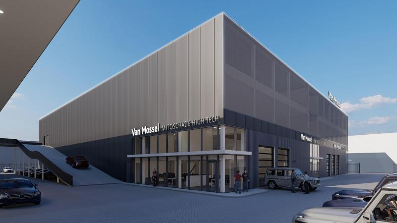 Van Mossel Autoschade Rotterdam is verhuisd