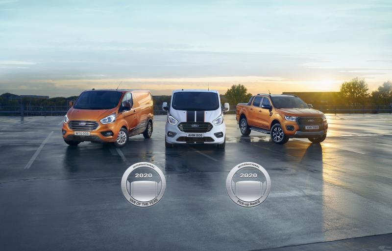 Ford bedrijfswagens winnen twee awards!