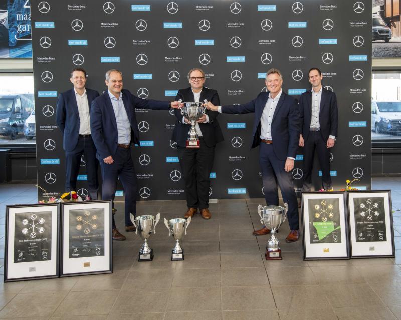 Van Mossel Trucks bemachtigt award voor Best Performing Dealer