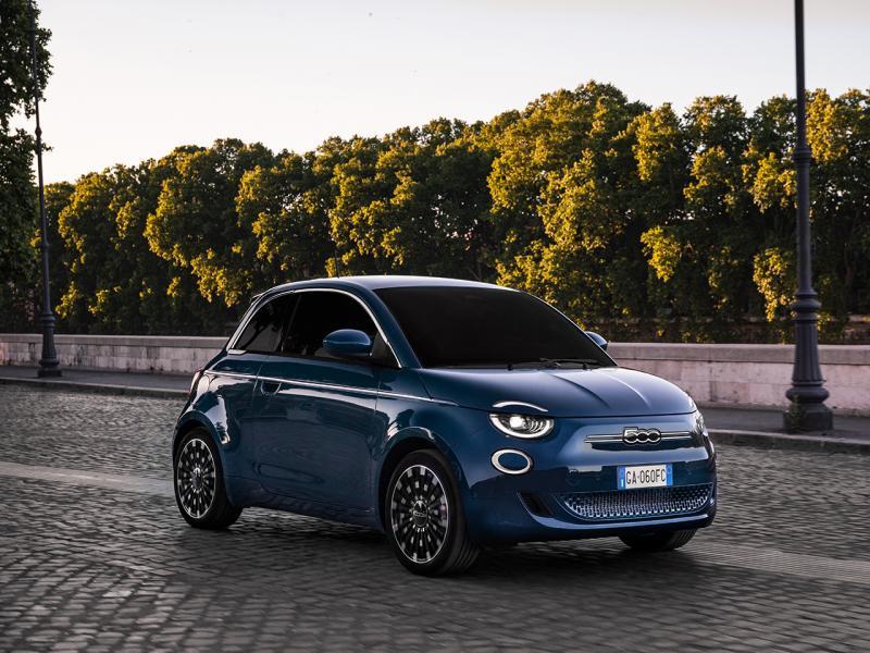 New 500 elektrische hatchback