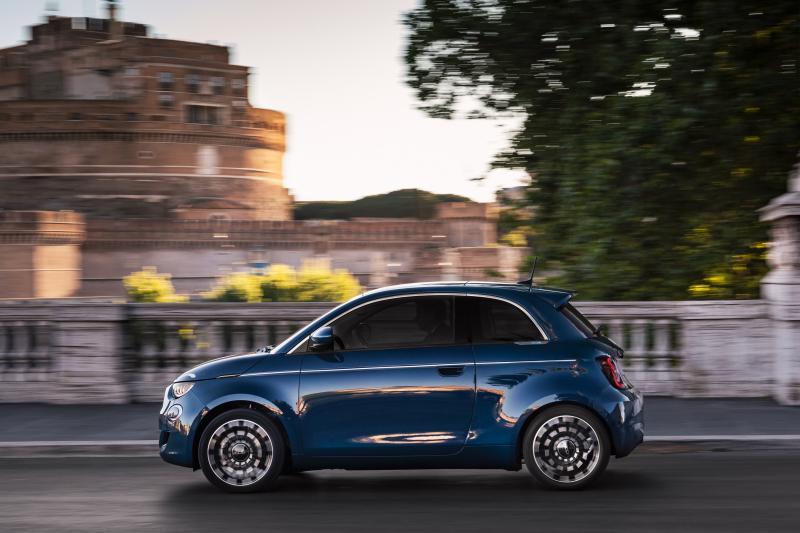Unieke preview van de volledig elektrische Fiat 500