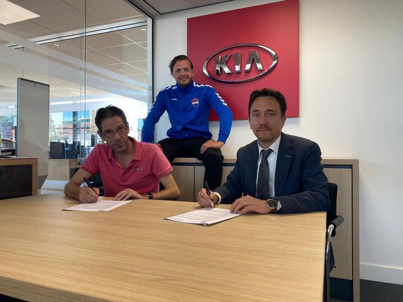 Van Mossel Kia is de nieuwe sponsor van ASC Nieuwland