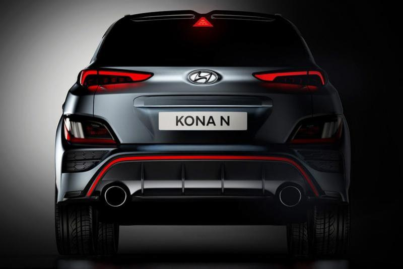 Hyundai toont eerste beelden van de Kona N