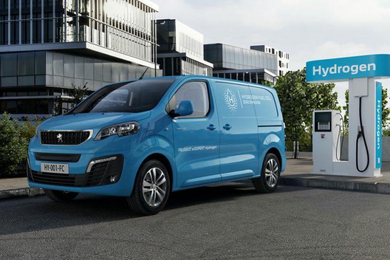 De Peugeot e-Expert Hydrogen