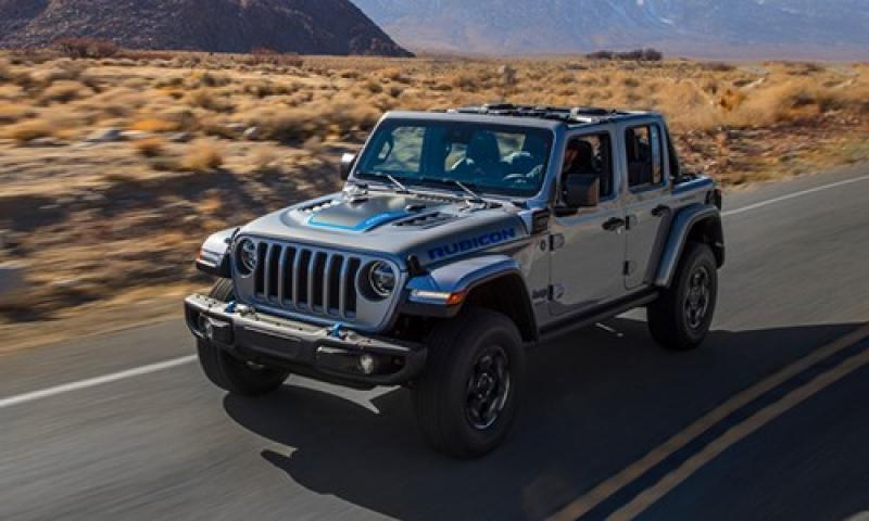 De nieuwe Jeep Wrangler 4xe
